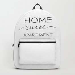 Home Sweet Apartment Backpack