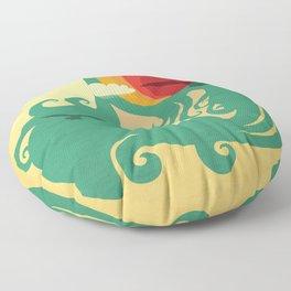 California Dreaming Floor Pillow