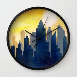 City Heat Wave Wall Clock