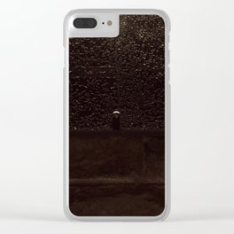 wall Clear iPhone Case