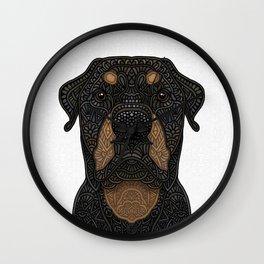 Rottweiler - Teddy Wall Clock