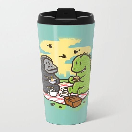 Let's have a break Metal Travel Mug