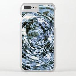 - time machine - Clear iPhone Case