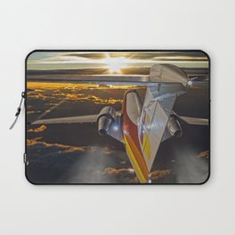 Flying at dawn Laptop Sleeve