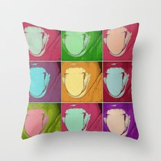 licks Throw Pillow