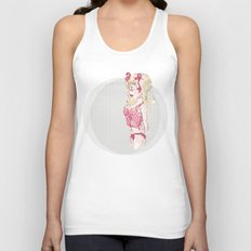 Blondy Girl Unisex Tank Top