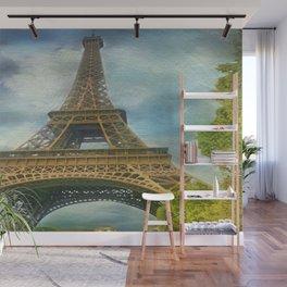 Eiffel Tower - La Tour Eiffel Wall Mural