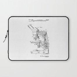 patent art microscope Laptop Sleeve