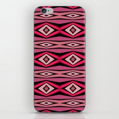 Pink Black and White Diamond Abstract iPhone & iPod Skin