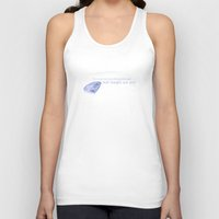swan queen Tank Tops featuring Swan Queen Quote (OUAT) by CLM Design