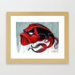 Koi Series-Deadpool Framed Art Print