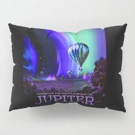 NASA Jupiter Planet Retro Poster Futuristic Best Quality Pillow Sham