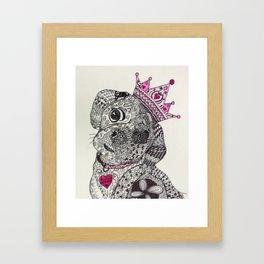 Princess Buttercup in Pink! Framed Art Print