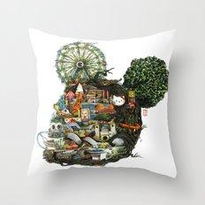 Nest iii Throw Pillow