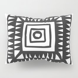 Tribal Print B&W- 02 Pillow Sham