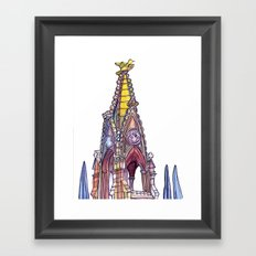 Love NYC's everything No. 7 Framed Art Print