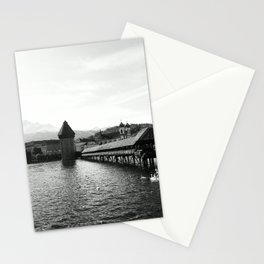 Luzern - Kapellturm Stationery Cards