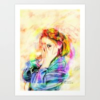 snsd Art Prints featuring Hide & Seek by Kimberly Phan