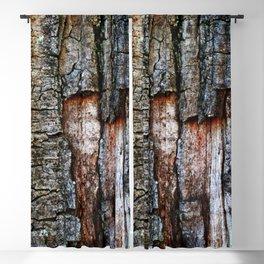 Tree Bark close up Blackout Curtain