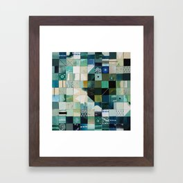 Sea Marks 2 Framed Art Print