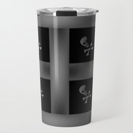 Skull Pattern Travel Mug