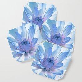 Dahlia blue 202 Coaster
