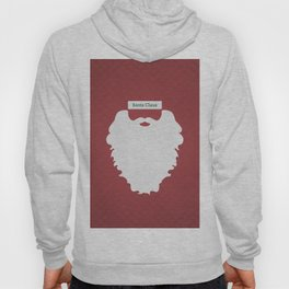 Santa Claus (Famous mustaches and beards) Hoody