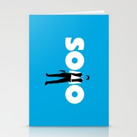 han solo Stationery Cards featuring Han Solo by Vector Vectoria