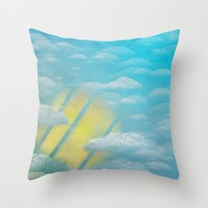Ode to Summer Throw Pillow