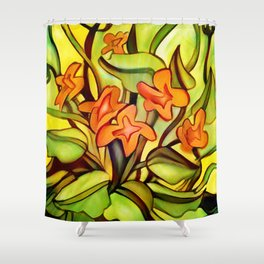 Abstract of Colors Shower Curtain