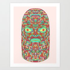 Self-Transforming Being Art Print