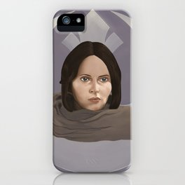 Jyn iPhone Case