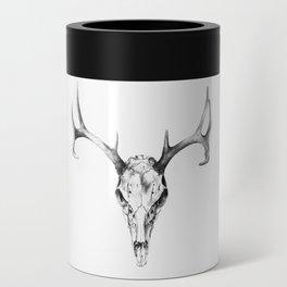 Deer Skull in Pencil Can Cooler
