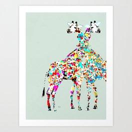 someone like you (animals Art Print