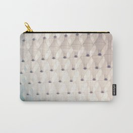 White Glass Carry-All Pouch