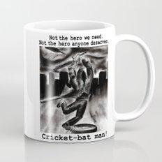 Cricket Bat Man Mug