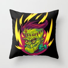 FUNKENSTEIN Throw Pillow