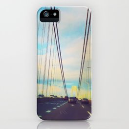 Changing Lanes iPhone Case