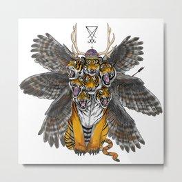 .The Beast. Metal Print