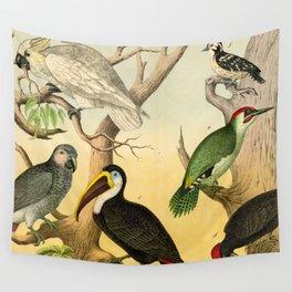 6 Birds Wall Tapestry