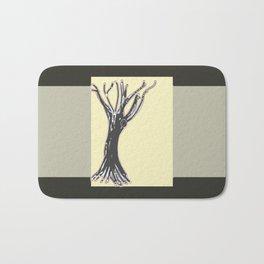 unblinking tree Bath Mat