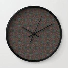 Electric Bubbles Wall Clock