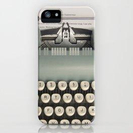 American Typewriter iPhone Case