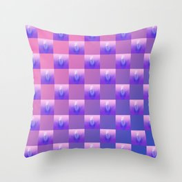 Pussy Patch Throw Pillow