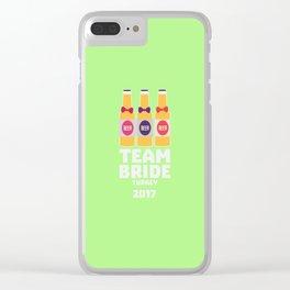 Team Bride Turkey 2017 T-Shirt for all Ages D0xgu Clear iPhone Case