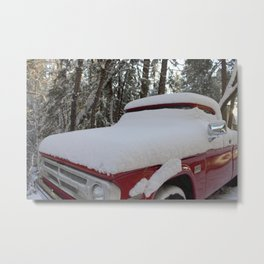 Old Pick-up Truck Metal Print