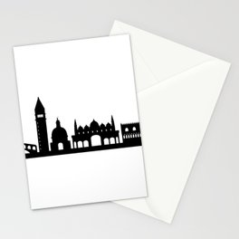 Venice skyline Stationery Cards
