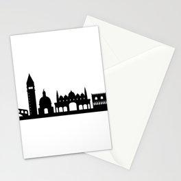 Venice skyline Stationery Cards