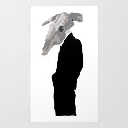 bullsuit. Art Print