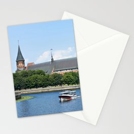 Place Fishing Village - ethnographic center and Cathedral. Kaliningrad Stationery Cards